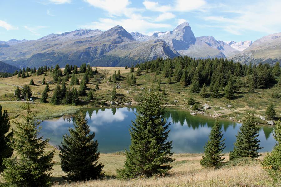 Østlige Schweiz-Alp Flix