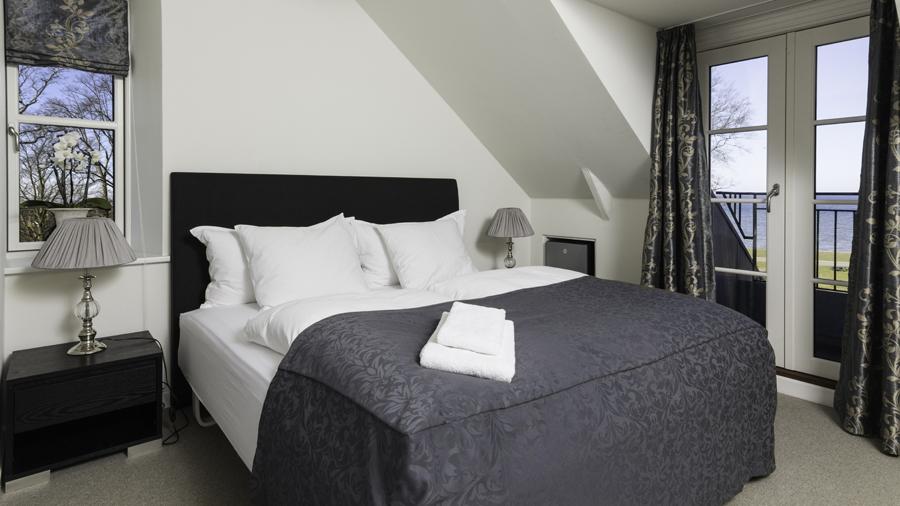 Bandholm Hotel-Superiorværelse med havudsigt