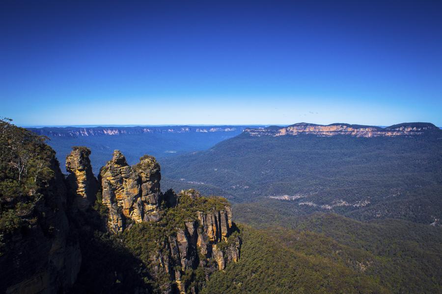 Three Sisters Blue Mountains National Park Australia
