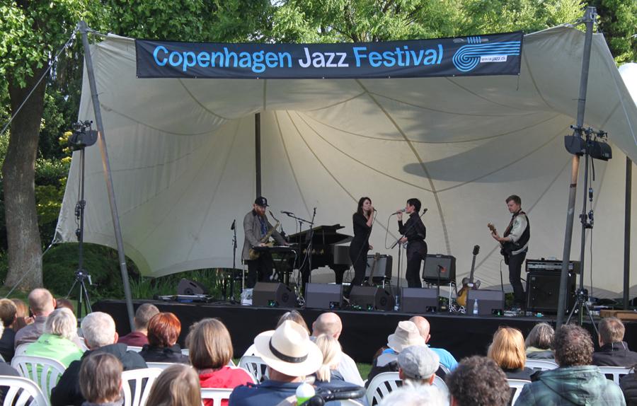Copenhagen Jazz Festival i Haveselskabets Have