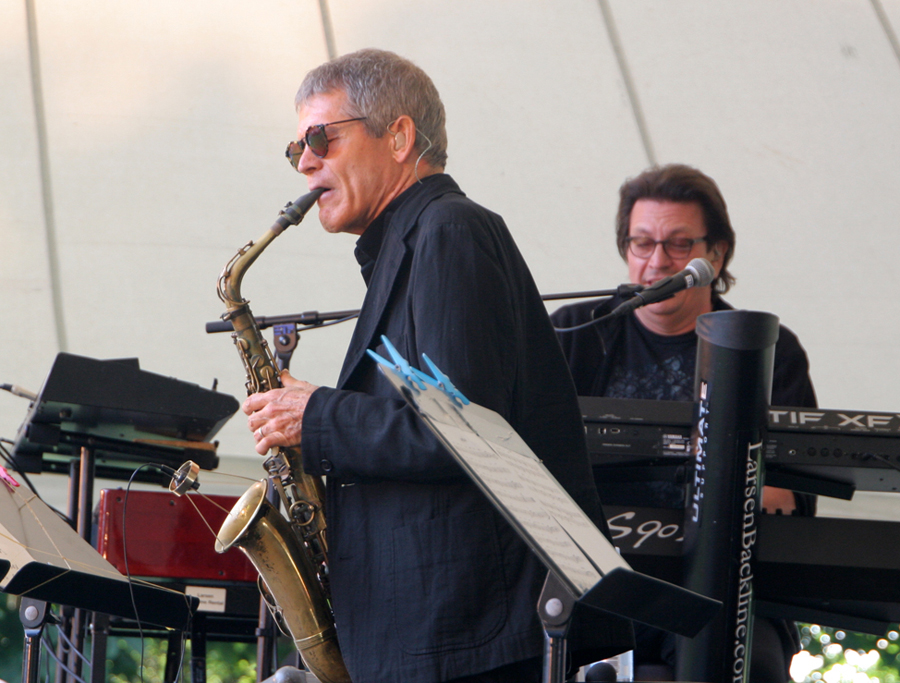 David Sanborn at Sølyst during Jazz Diva Days