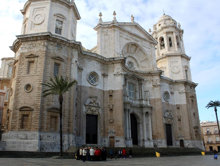 Domkirken i Cádiz  er én af Spaniens største kirker
