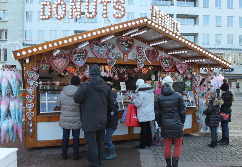 Julemarked på Gustav Adolfs Torg