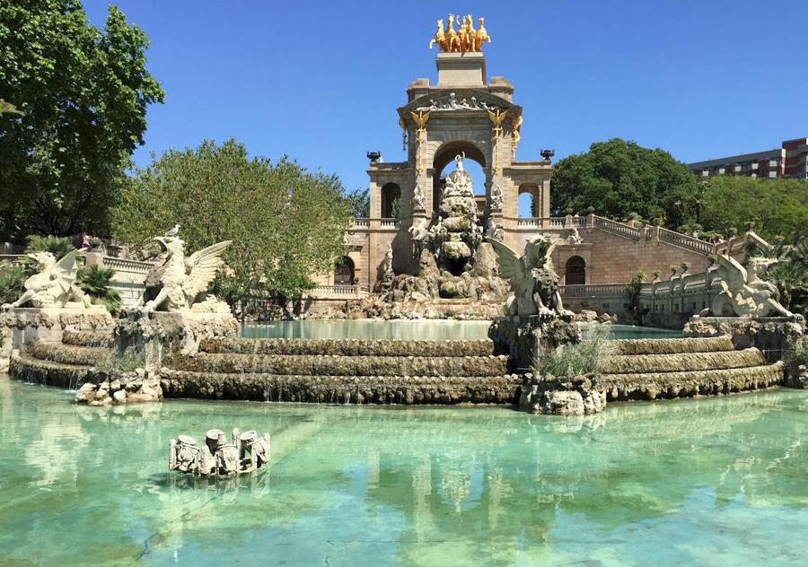 La Cascada i Parc de la Ciutadella Barcelona