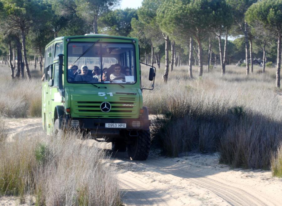Naturparken i firehjulstrækker