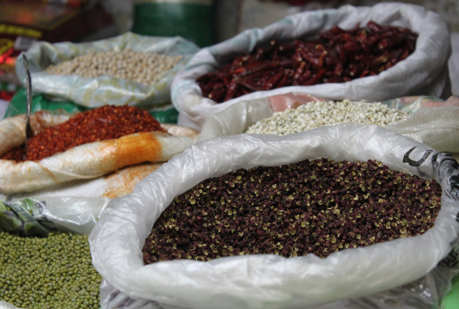 Red Sichuan pepper