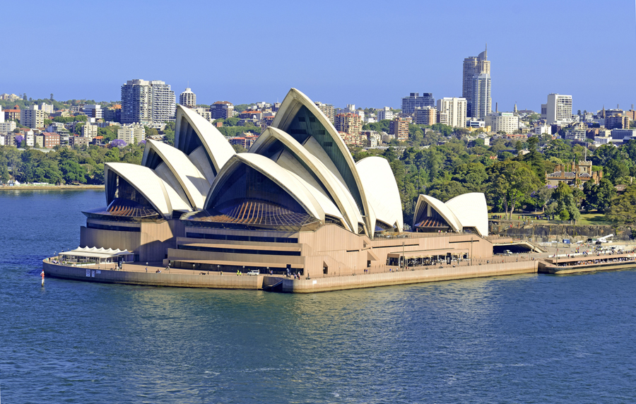 Sydney Opera House at Circular Quay, Australia