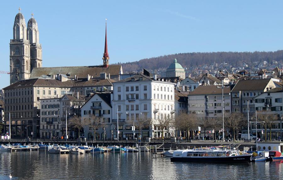 Zürich-Limmatfloden