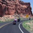 På motorcykel i det vestlige USA
