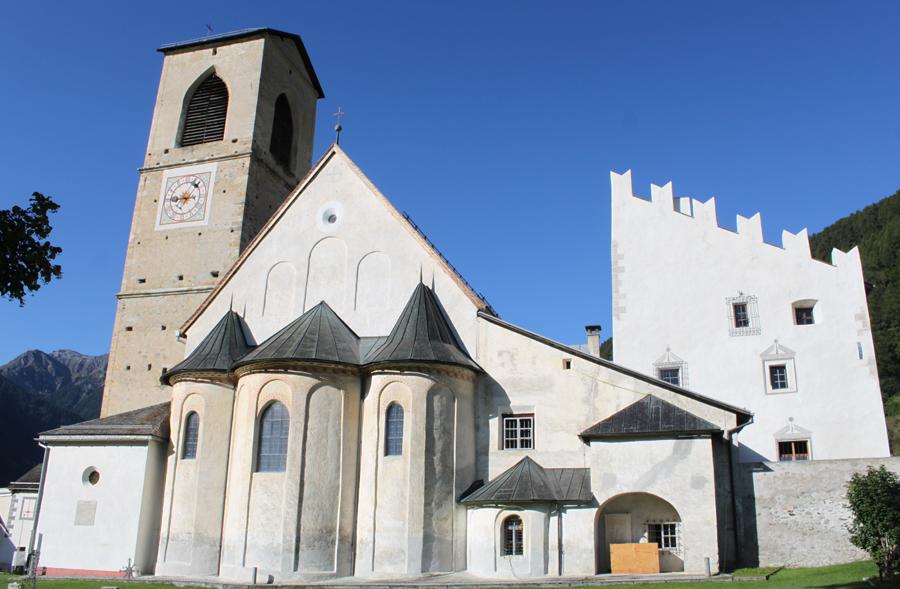 Østlige Schweiz-Val Müstair-Museum & Kloster St. Johan