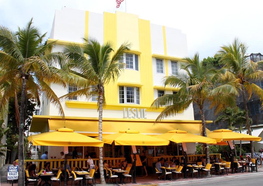 Art Deco på Ocean Drive