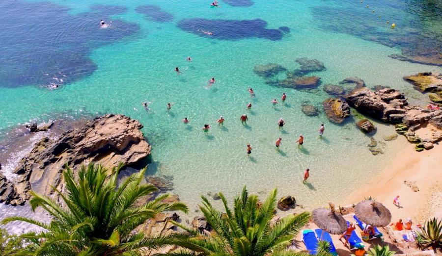 Cala Fornells på Mallorca med hotel af samme navn