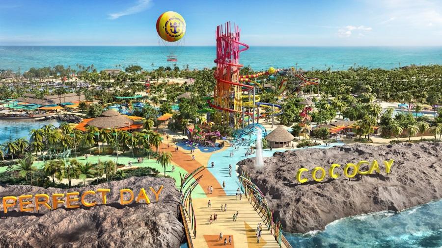 Besøg eventyrøen CocoCay i Caribien