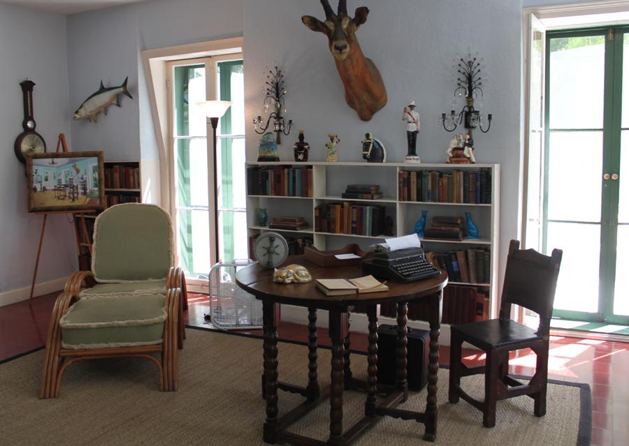 Hemingways arbejdsværelse
