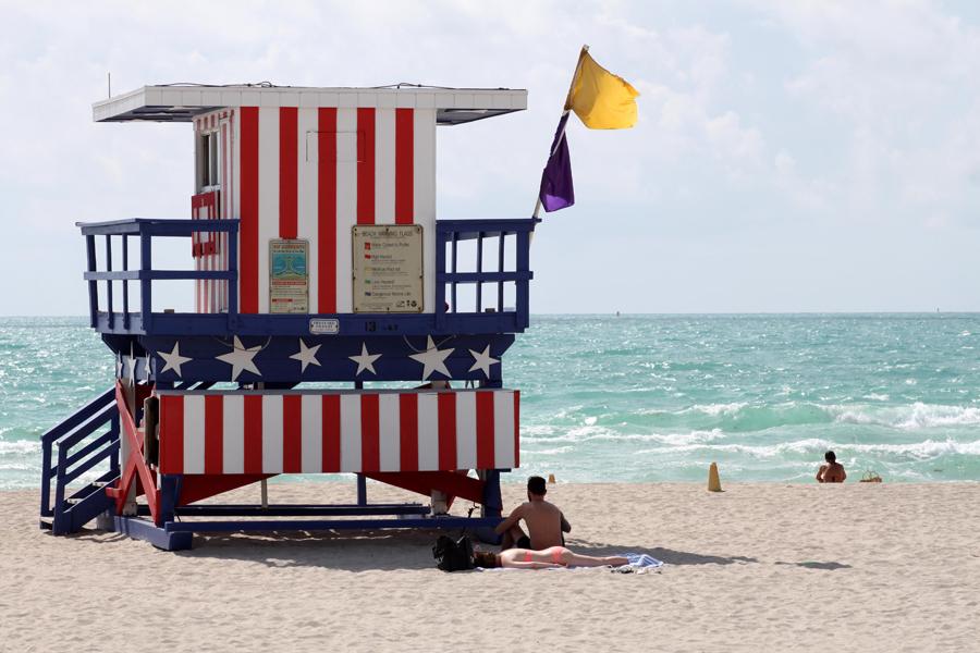 Livredderhus på Miami South Beach