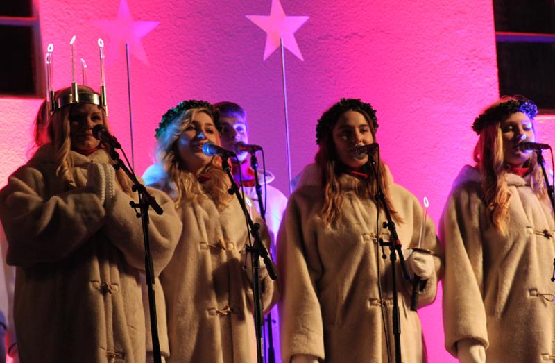 Lucia koncert i Folkets Park