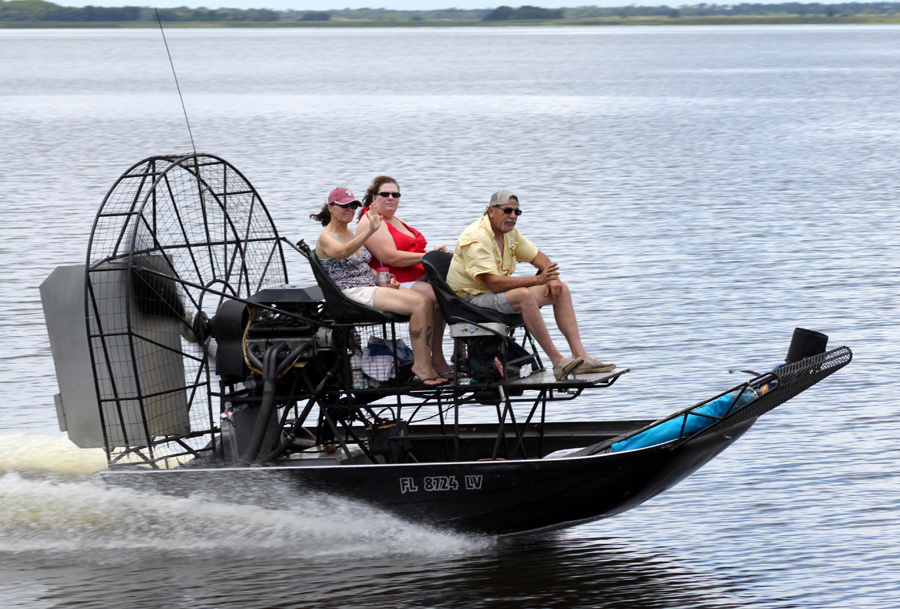 Propeller-driven airboats in all sizes