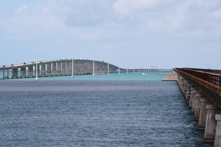 Seven Mile Bridge bro og togbane