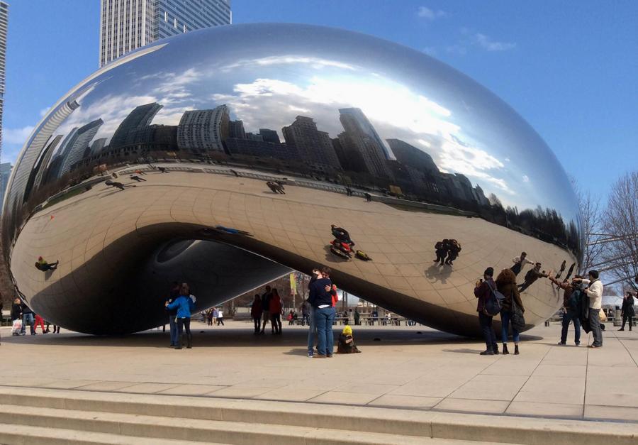 The Bean Millennium Park Chicago